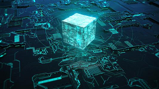 科幻科技能量图片