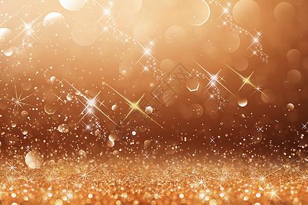 金色闪光背景图片
