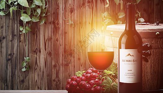 红酒酿造图片