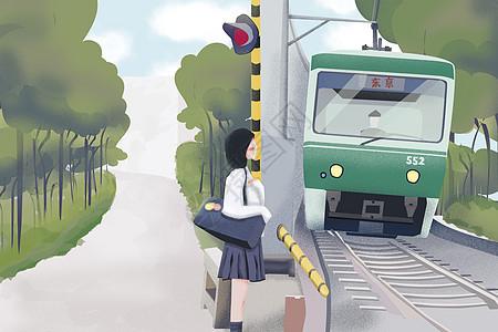 火车站离开家乡图片