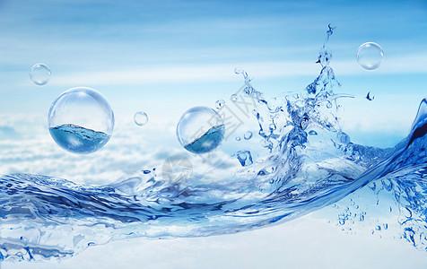 创意水面场景图片