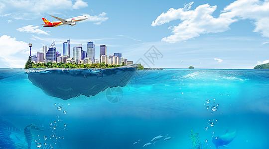 海上都市图片