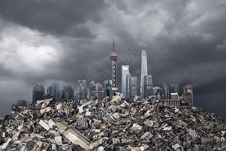垃圾污染图片