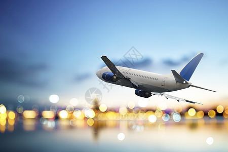 飞机旅游场景图片