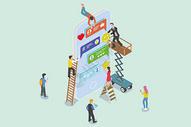 2.5d商务合作图片