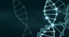DNA链条背景图片