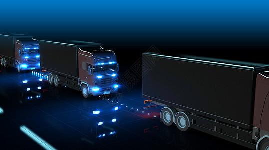 货车自动驾驶图片