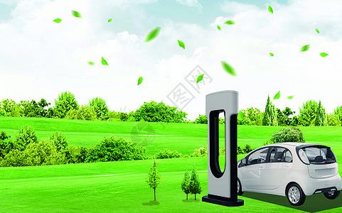 新能源汽车场景图片