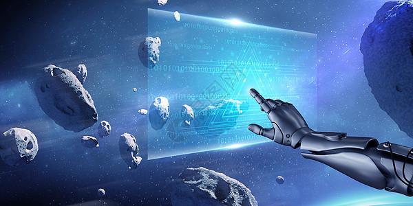 炫酷科幻空间图片