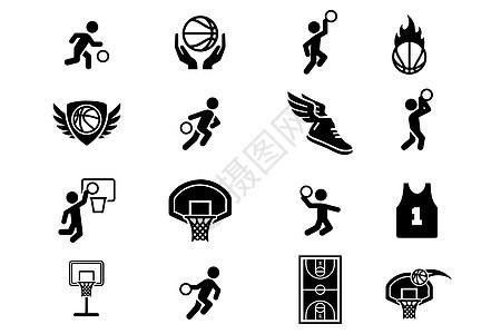 篮球图标图片