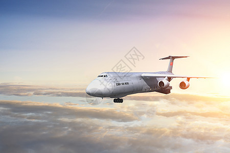 航空飞机度假图片