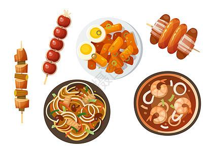 日本韩国料理美食图片