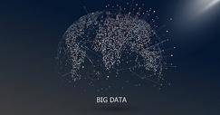 大数据科技感地球图片