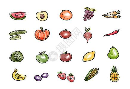 果蔬图标图片