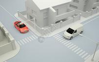 汽车交通场景图片