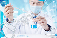 DNA研究图片