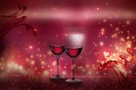 红酒场景图片