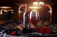 创意红酒场景400294715图片