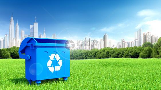 垃圾回收场景图片