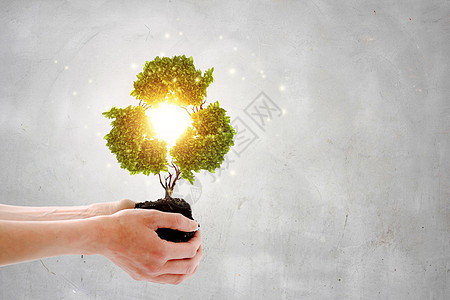 创意环保概念图片
