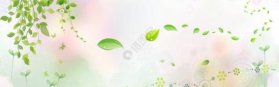创意清新banner背景图片