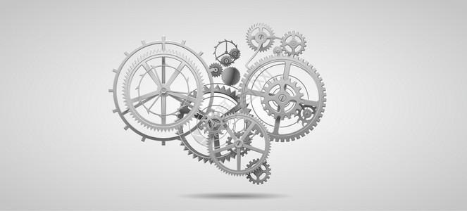 机械齿轮科技图片