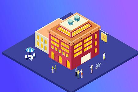 购物广场图片
