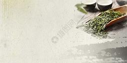 中国风茶背景图片