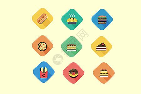 餐饮饮食类图标图片