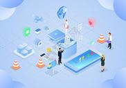 商务办公科技未来图片