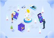 科技未来商务金融图片