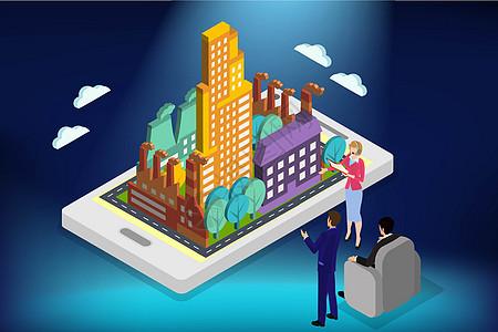 城市规划城市与工业图片