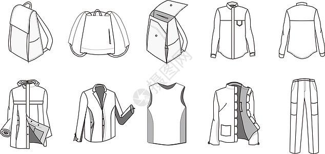 衣服图标图片