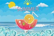 夏日冰饮图片
