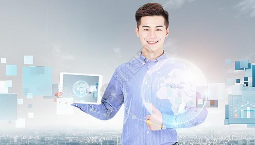 未来商务智能分析图片