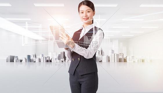 未来科技概念数据分析图片