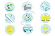 旅游度假图标图片
