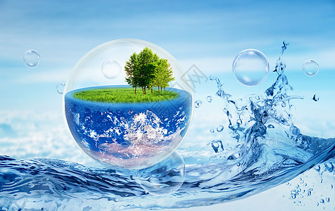 创意地球环保图片