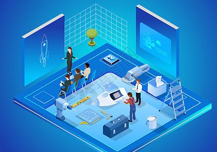 商务科技未来办公图片