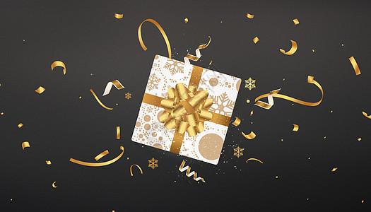 创意礼物盒图片