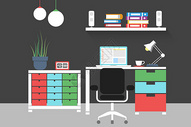 商务创意办公室图片