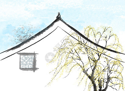 中国风诗意建筑图片