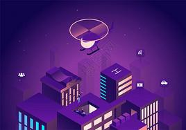 科技智能化城市图片