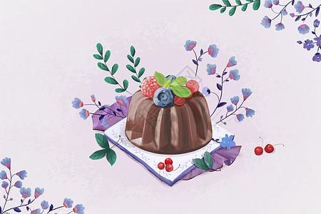 草莓蛋糕�D片