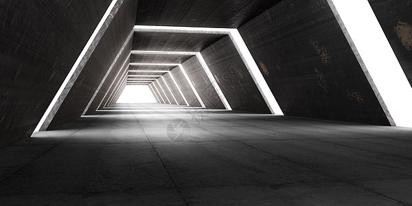 隧道空间场景图片