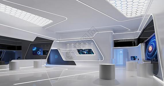 现代科技展厅图片