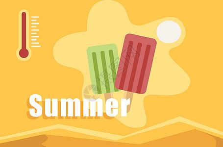 处暑季节炎热天气图片