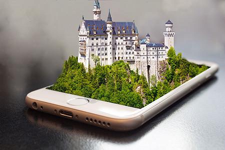 手机城堡图片