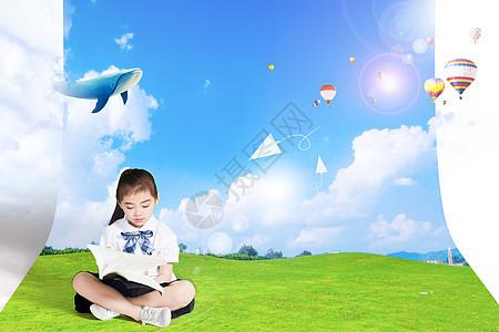 儿童思维想象力图片
