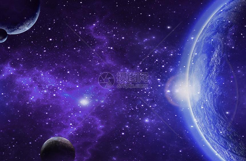 科幻宇宙天空图片